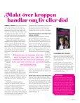 Pushing the Limits tidningen - Kvinna till Kvinna - Page 7