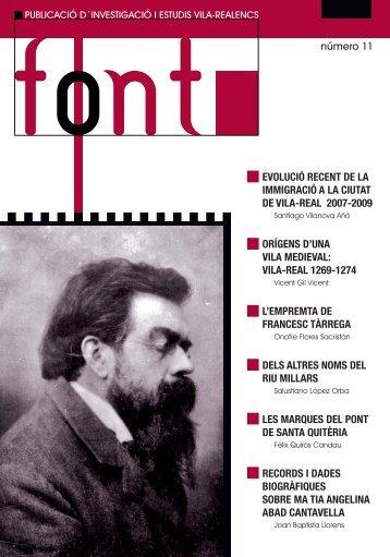 FONT número 11 - Ajuntament de Vila-real