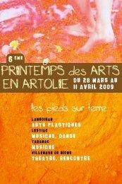 PrintemPs des Arts en Artolie - Coeur Entre-Deux-Mers