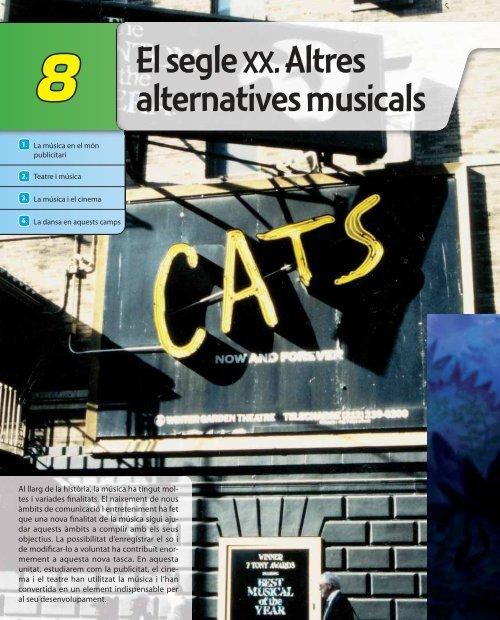 El segle XX. Altres alternatives musicals - McGraw-Hill