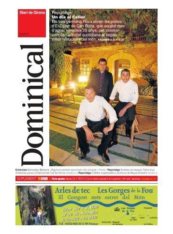 Descarrega't el suplement Dominical (PDF) - Diari de Girona