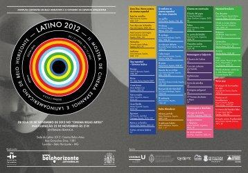 LATINO 2012 - Instituto Cervantes de Belo Horizonte.