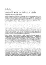 Israel-Palestina - Observatori de la Cobertura de Conflictes