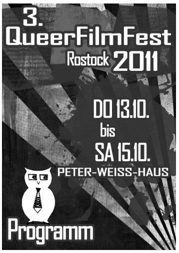 Programm (hier klicken, PDF-Datei) - QueerFilmFest Rostock