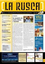 Rusca número 15. Juny de 2009