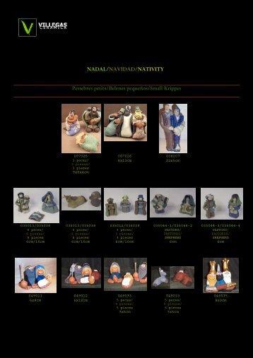 NADAL/NAVIDAD/NATIVITY Pessebres petit - Ceramica VILLEGAS