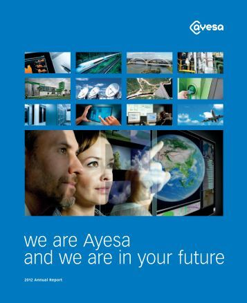 we are Ayesa and we are in your future