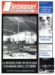 la segona fase de sa plaça - Biblioteca Digital de les Illes Balears