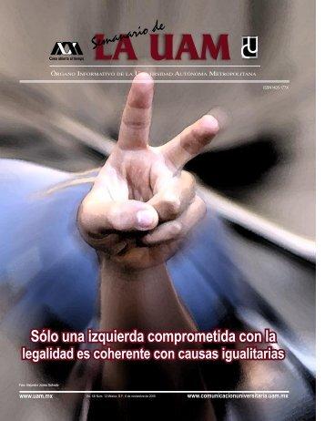 Semanario de LA UAM - Universidad Autónoma Metropolitana