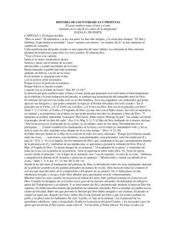 historia de los patriarcas y profetas.pdf - Cristianos