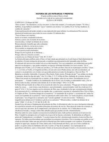 HISTORIA DE LOS PATRIARCAS Y PROFETAS El gran ... - 260Mb