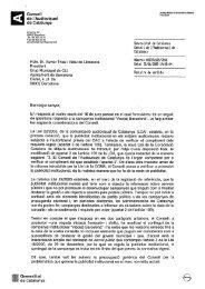 Carta CAC Xavier Trias - CiU