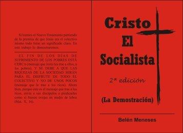 CRISTO EL SOCIALISTA 2DA EDICIÓN (LA ... - Belen Meneses