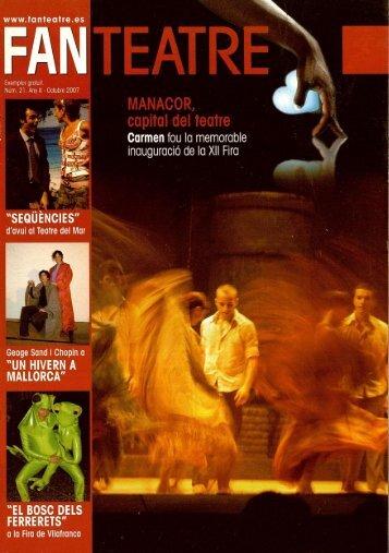 cultural OCTUBRE 2007 - Biblioteca Digital de les Illes Balears ...