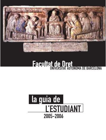 la guia de L'ESTUDIANT - Dipòsit Digital de Documents de la UAB ...