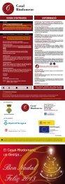 Programa d'activitats (pdf 567 Kb) - Departament de Cultura