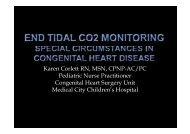 Karen Corlett RN, MSN, CPNP-AC/PC Pediatric ... - RT Connection