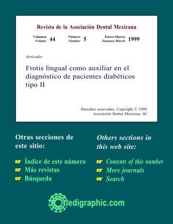 Frotis lingual como auxiliar en el diagnóstico de ... - edigraphic.com