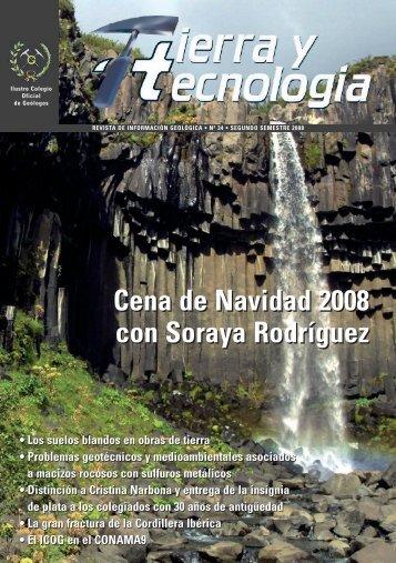 Tierra y tecnología nº 34.pdf - Geólogos del Mundo - Asturias