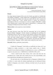 Modapalavra E-periódico Ano 4, n.7, jan-jun 2011 ... - CEART - Udesc
