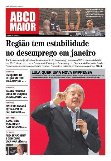 28/02/2013 - Ano 07 - Nº 542 - ABCD Maior