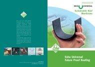 Esha Universal Future Proof Roofing - RIBA Product Selector