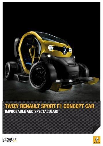 TWIZY RENAULT SPORT F1 CONCEPT CAR