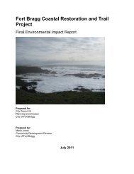 08/08/2011 - CC - Certify Trail EIR Attachment 3 - City of Fort Bragg ...