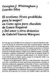 GeorginaJ. Whittingham y Lourdes Silva El erotismo ¿fruto prohibido ...