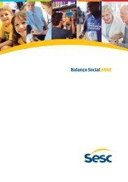 Balanço Social 2012 - Sesc SC