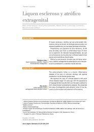 Liquen escleroso y atrófico extragenital - Archivos Argentinos de ...