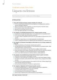 Liquen escleroso - Archivos Argentinos de Dermatología