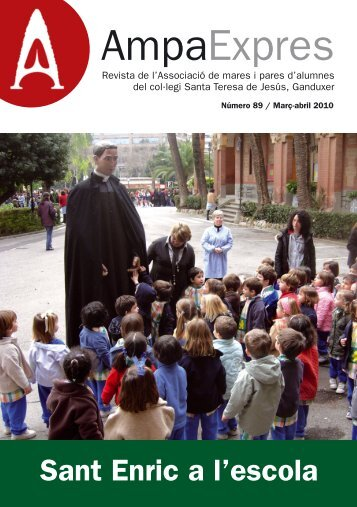 Sant Enric a l'escola - AMPA Teresianas Ganduxer