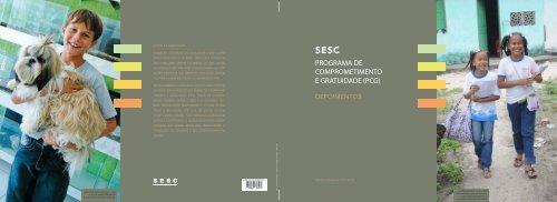 Programa de Comprometimento e Gratuidade (PCG) - Sesc