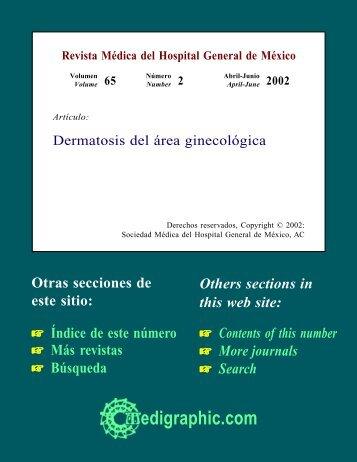 Dermatosis del área ginecológica - edigraphic.com