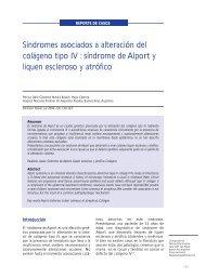 síndrome de Alport y liquen escleroso y atrófico