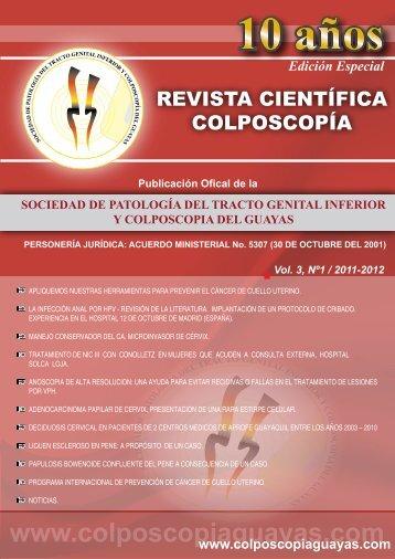 Revista de Colposcopia 2012 (pdf) - Sociedad de Patología del ...