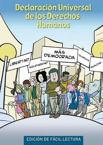 Declaración Universal de los Derechos Humanos - Fácil Lectura