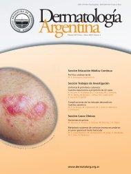 Dermatologia revista 20080328:Dermatologia revista 20070307.qxd ...