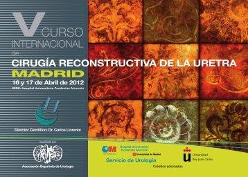 Descargar Programa (PDF) - Asociación Española de Urología