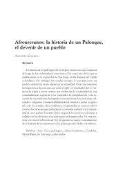 Afrouresanos: la historia de un Palenque, el devenir de un pueblo