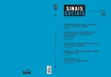 Revista Sinais Sociais N20 pdf - Sesc