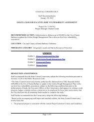 goleta slough sea level rise vulnerability assessment - California ...