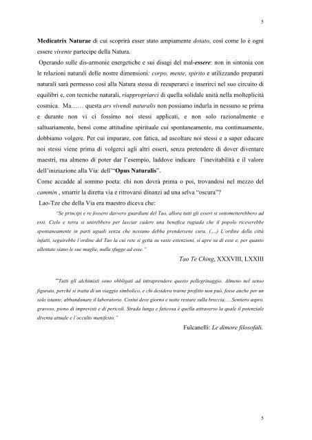 nella storia della Naturopatia - Lino Carriero