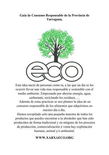 1.1) Guia de consumo responsable de Tarragona, Reus,Valls y Salou ...