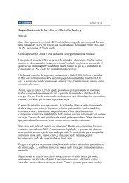 13/09/2012 Da gasolina à conta de luz :: Carlos Alberto Sardemberg ...