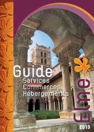 télécharger la brochure 2013 - Office de tourisme d'Elne