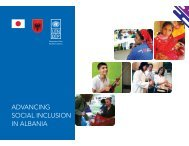 Advancing Social Inclusion Albania