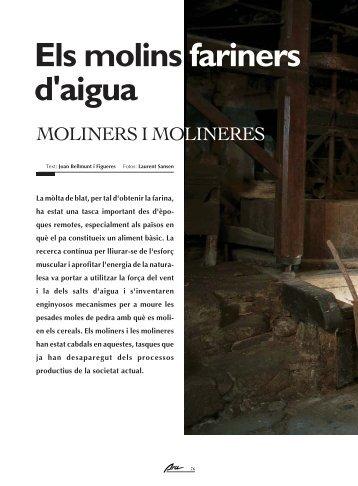 Els molins fariners d'aigua - Ara Lleida