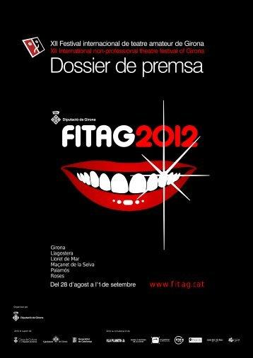 Dossier de premsa FITAG 2012 - festival Internacional de Teatre ...